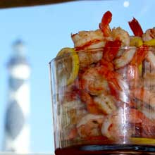 Shrimp Cocktail with Lighthouse